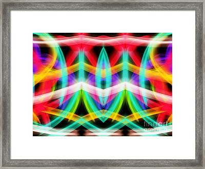 Up Beat Framed Print