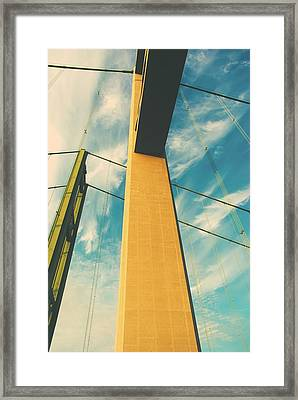 Up Close Framed Print by John Rossman