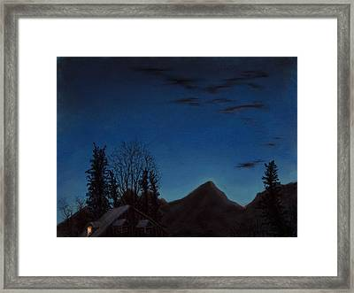 Up Early Framed Print by Jocelyn Paine