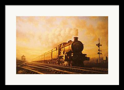 Gwr Paintings Framed Prints