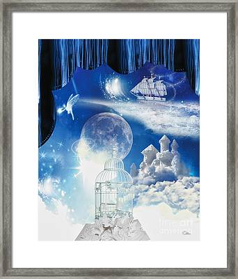 Up In The Air Framed Print by Mo T