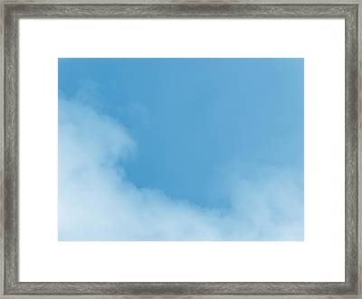 Up In The Air Framed Print by Wendy J St Christopher