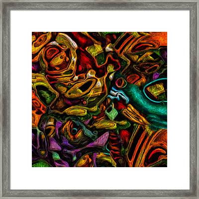 Up In The Attic Framed Print