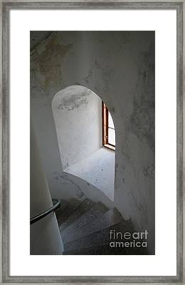 Up In The Tower Framed Print
