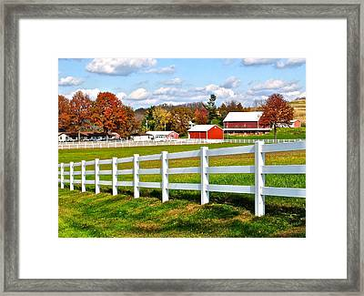 Up In Them There Hills Framed Print by Frozen in Time Fine Art Photography