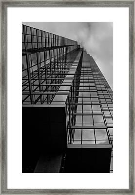 Up Framed Print by Mark Alder