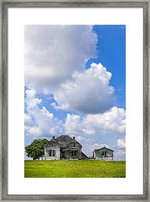 Up On Memory Hill - Rural Georgia Framed Print by Mark E Tisdale
