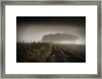 Up On T Moor... Framed Print