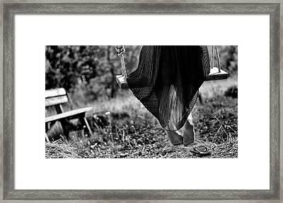 Up Or Down Framed Print