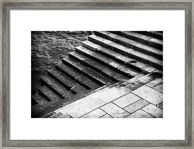 Up Or Down Framed Print by John Rizzuto
