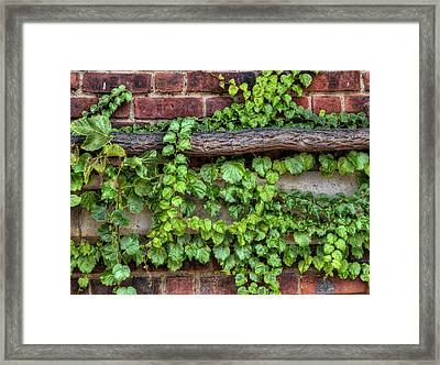Up Over And Under Framed Print