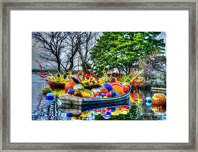 Up The Creek Without A Paddle Framed Print by Debbi Granruth