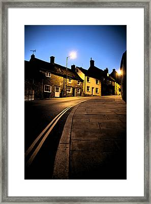 Framed Print featuring the photograph Up The Road by Stewart Scott