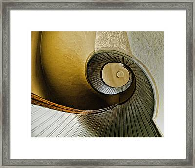 Up The Stairway Framed Print by Jon Berghoff