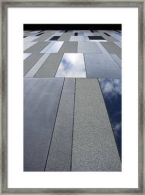 Up The Wall Framed Print