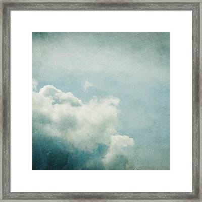 Up There Framed Print by Violet Gray