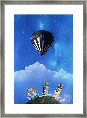 Up Through The Atmosphere Framed Print by Juli Scalzi