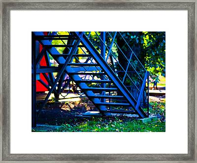 Up To The Back Door Featured 3 Framed Print by Alexander Senin