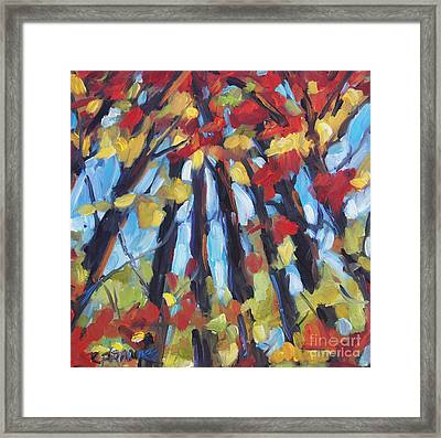 Up To The Light By Prankearts Framed Print