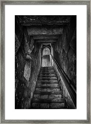 Up To The Walls Framed Print