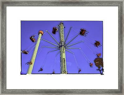 Up Up And Away 2013 - Coney Island - Brooklyn - New York Framed Print by Madeline Ellis