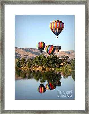Up Up And Away Framed Print by Carol Groenen