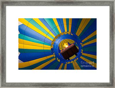 Up Up And Away Framed Print by Inge Johnsson