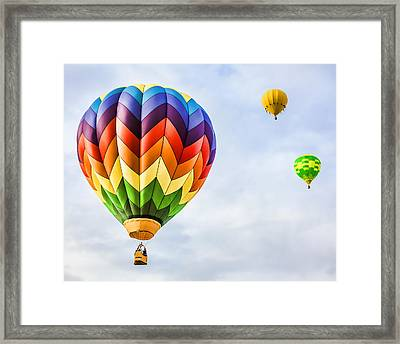 Up Up And Away Framed Print