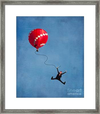 Up Up And Away Framed Print by Juli Scalzi