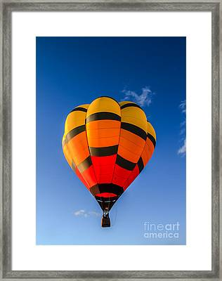 Up Up And Away Framed Print by Robert Bales