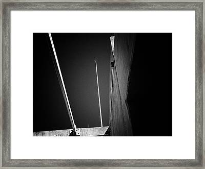 Up Framed Print by Wendy J St Christopher