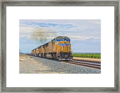 Up4421 Framed Print