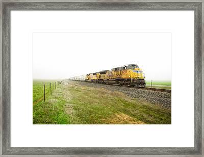 Up8420 Framed Print