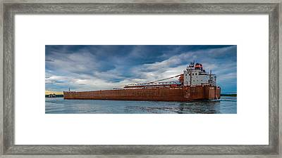 Upbound At Mission Point 2 Framed Print by Gales Of November