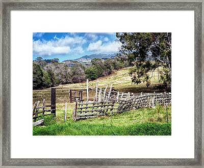 Upcountry 2 Framed Print