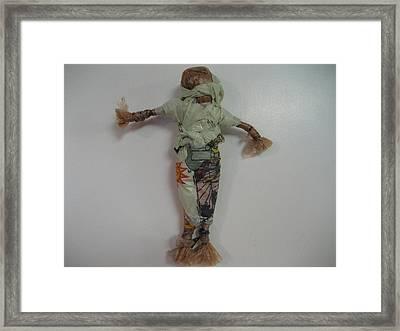 Upcycled Framed Print by Dotti Hannum