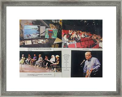 Update On The Fundraising To Benefit Haitian Earthquake Victims Framed Print