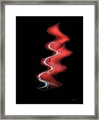 Updraft Framed Print by Dennis Lundell