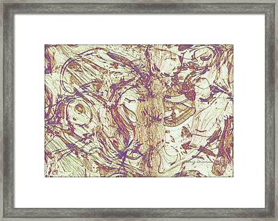 Upheaval Framed Print by Kathie Chicoine