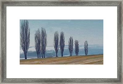 Uphill Wittem Eys Framed Print by Nop Briex