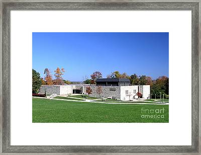 Upj Engineering Hall Framed Print