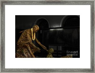 Uplift The Downtrodan Framed Print