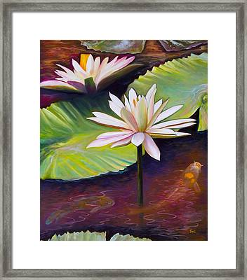 Uplifting Framed Print by Eve  Wheeler