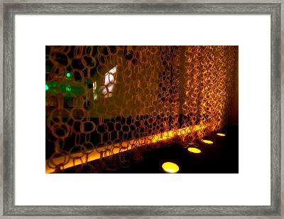 Uplight The Chains Framed Print by Melinda Ledsome