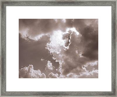 Uplighting Framed Print by Wendy J St Christopher