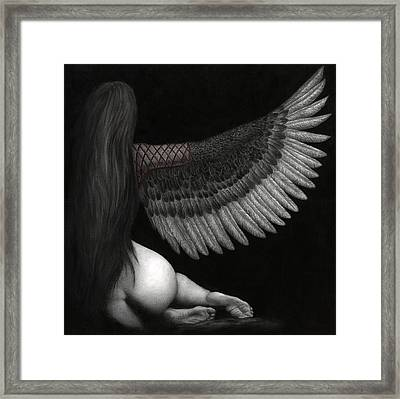 Upon Ashen Wings Framed Print by Pat Erickson