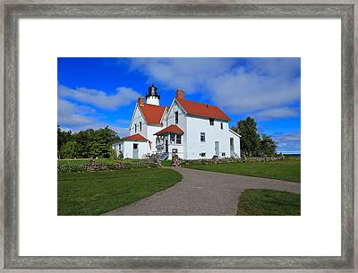 Upon Point Iroquois Framed Print