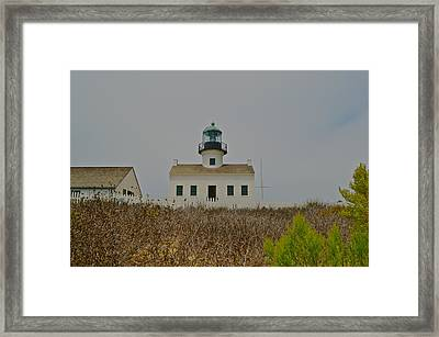Upon The Hill Framed Print