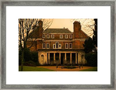 Uppark House Framed Print by Tracey Beer