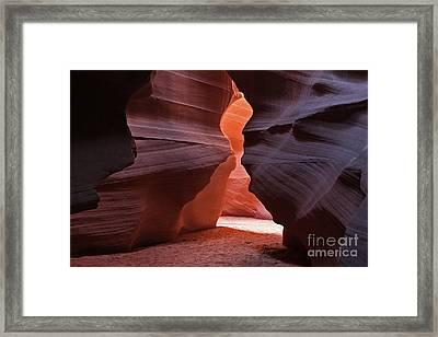 Upper Antelope Canyon Framed Print